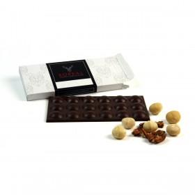 Chocolate negro intenso con mix de Nueces