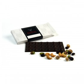 Chocolate negro intenso con Arándanos, Pistachos y Anacardos