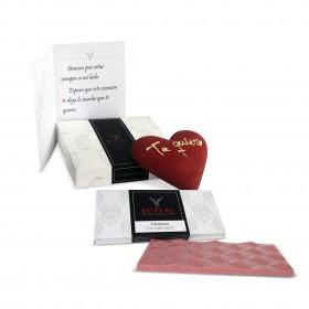 Pack Corazón de avellana y tableta de frambuesa