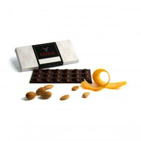 Chocolate con leche, Naranja y Almendras