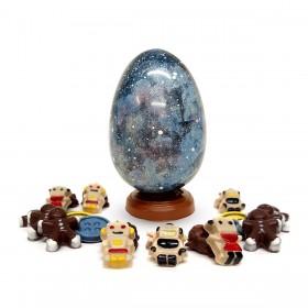 Huevo Andrómeda y su relleno
