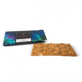 Tableta de chocolate blonde con galleta