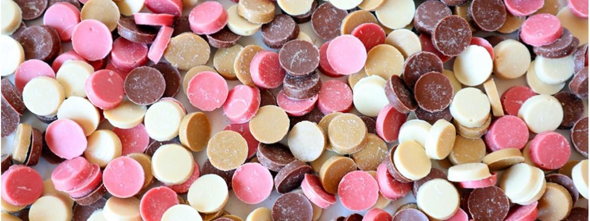 Chocolates sin lactosa para tus recetas, repostería de calidad